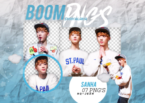 Sanha PNG PACK#1|ASTRO by UpWishColorssx