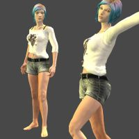 Chloe Summer meshmod (DOWNLOAD) by LingLostHappinesXiao