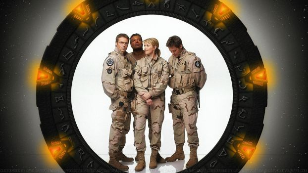 Stargate SG1 by Dave-Daring