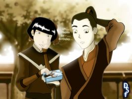 Mai and Zuko -Peaceful Times- by doini