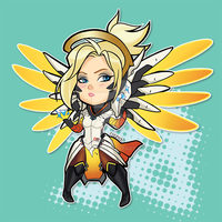 Overwatch: Mercy by Kayley