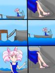 Commission: On a Boat by chibirini1