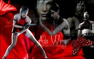 Ada Wong, Lady in Red by Dhampir123