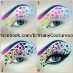 Neon Leopard Print (pictorial) by BrittanyCouture