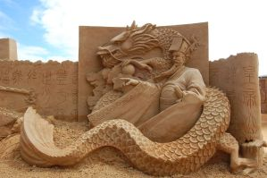 sand scupltures 8 by DanielleMiner
