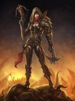 Diablo III - Demon Hunter by hunqwert