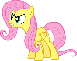 Fluttershy's Angry by Quasdar