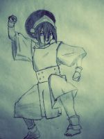 Toph~epic earthbender! by rDeanL