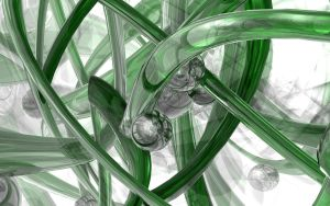 Green Glob -2405 Series- by chaotic-z