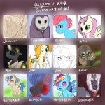 2012: Year Review in Art by Velexane