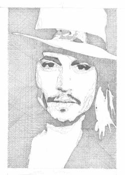 Johnny Depp at half mast by the-extremist02