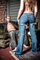 Jeans ad by FashionPhotographer