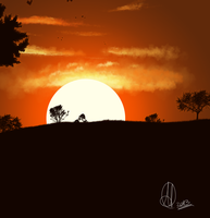 Sunset by yousam