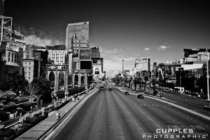 The Vegas Strip by cupplesey