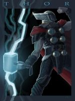 heroic Thor by strib