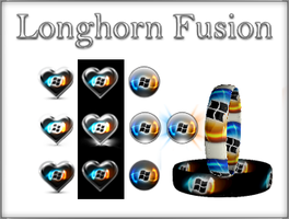 Longhorn Fusion Start Buttons. by Fiazi