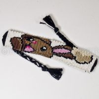 Buneary 1 inch Macrame Friendship Bracelet by CarrieBea
