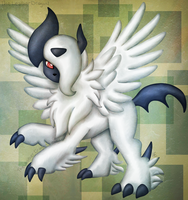 Mega Absol by TheLeatherDragonI
