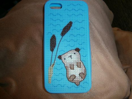 Otter iPhone Case by Fusainne