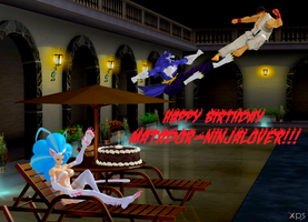 Happy Birthday, matador-ninjaLover! by NekoHybrid
