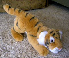 KM International Tiger Plush by The-Toy-Chest