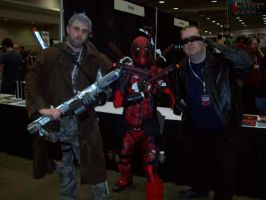 Awsome con DC 2014 The Gangs all here by Zamboniman