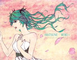 +HATSUNE MIKU+ by Piece5113