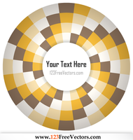 Op Art Illustration for Your Text by 123freevectors
