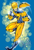 booster gold by Sketch4ever