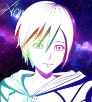 Xion~with speed paint^^ by OrangensaftXD