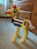 MLP Flam Plush Without Hat by bigtimetransfan27