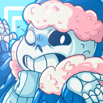 Merry Sans Christmas! by Silverr-x