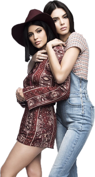 PNG ft. Kylie and Kendall Jenner #1 by Katie-Salvatore