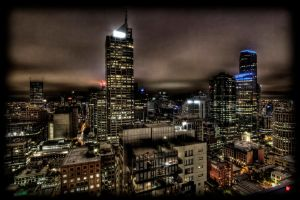 The Heart Of Melbourne by JTalon