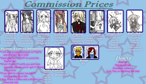 Commission Prices -UPDATE- by Akask1-chibi