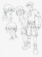 X-Campus - Bobby sketch 2005 by DenisM79