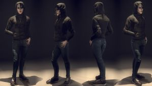 Girl With The Dragon Tattoo Outfit 2 Full by mrhobo87