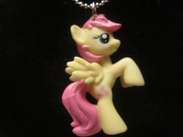 Fluttershy Necklace by colbyjackchz