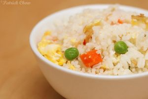 Simple fried rice by patchow