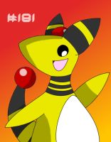 Ampharos by GeminiToad