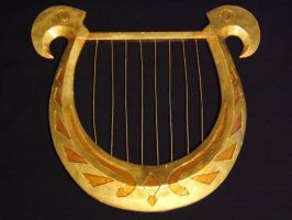 Goddess Harp 03 by DonnixProps