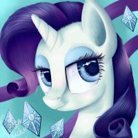Miss Rarity by LucyDubstepMandS