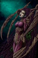 Comission: Kerrigan by Wictorian-Art