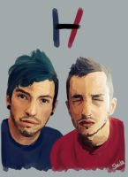 Josh and Tyler by Supersla