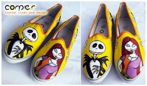 nightmare couple shoes by JONY-CAKEP