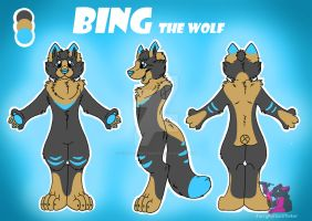 Bing - Reference Sheet by FurryFursuitMaker