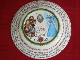 Fairy Tale Plates- Snow White (Back) by Gummibearboy