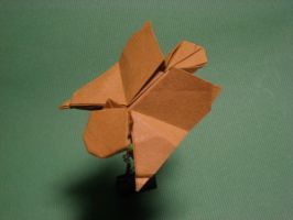 Origami Flying Squirrel by GEN-H
