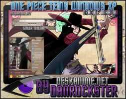 Dracule Mihawk Theme Windows XP by Danrockster