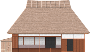 Japanese Country House by Herbertrocha